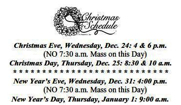 christmas masses 2014
