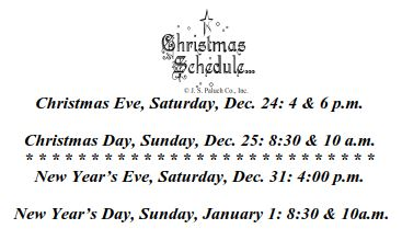 christmas-schedule-2016